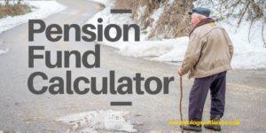 Pension Fund Calculator