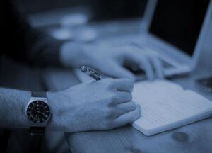 Posting regularly to blog