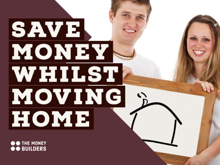 Save Money While Moving Home