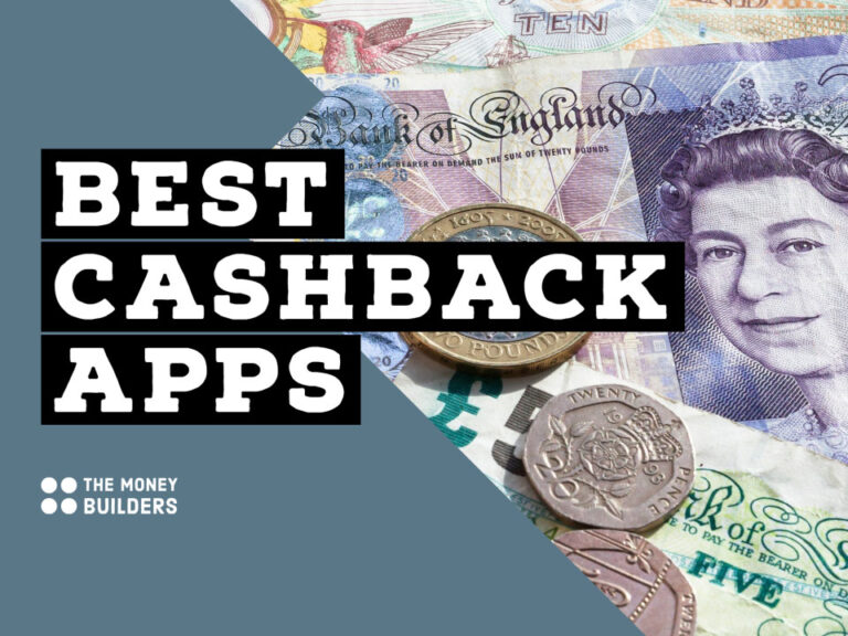 Best Cashback Apps text with UK money in background