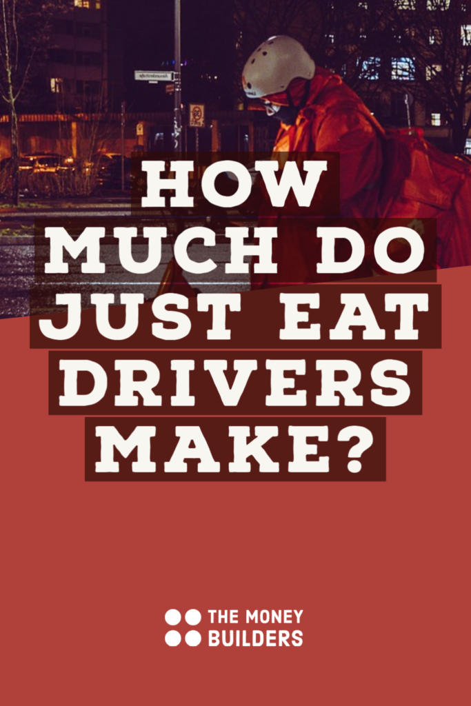 How Much Do Just Eat Drivers Make Pinterest Pin